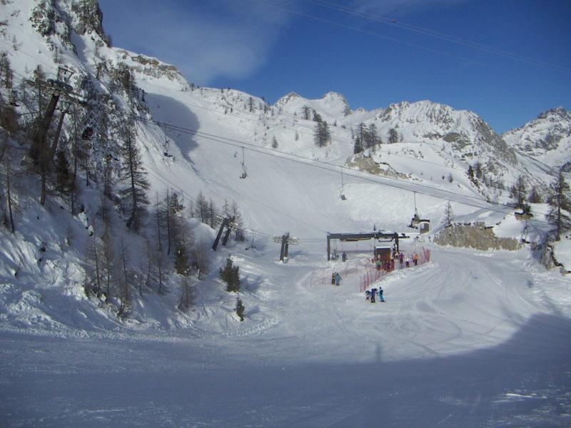 colere ski area 2200