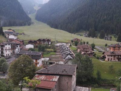 Vista sul Pizzo Camino