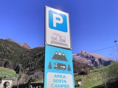 """Area sosta camper """"Presolana"""""""